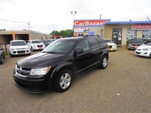 2013 DODGE JOURNEY SE 4 CYL SPACIOUS GAS SAVER  EASY FINANCING