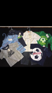 New with tags boys 12-18mths clothing