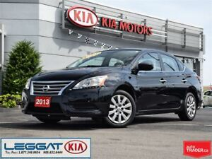 2013 Nissan Sentra S - One Owner, Bluetooth, ECO/Sport Mode