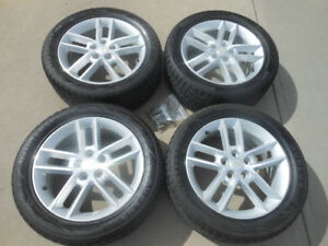 P235/50R18 Auplus Winter Sport Tires on Impala Alloy Wheels