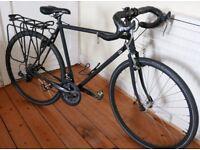 Road Bike vintage matt black