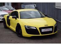 2009 Audi R8 Coupe quattro 4.2FSi V8 420 R Tron Auto6 Petrol yellow AutoManual