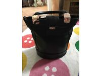 Faith leather style tote handbag