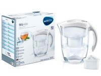 BRITA Elemaris Meter XL Water Filter Jug - White