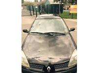 Black Renault Clio 1.2 - Great car with Low Milage