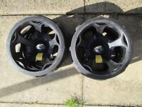 powakaddy winter wheels good usable condition.