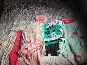 6-9 month twin sets clothing lot