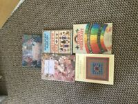 Set Of 5 needle craft books lovely condition
