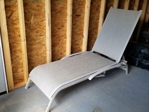 2 Sling Chaise Lounges