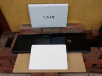 4 BROKEN LAPTOP'S,APPLE MACBOOK,SONY VIO PCG-71C11M,ACER 5235,HP PRESARIO CQ61