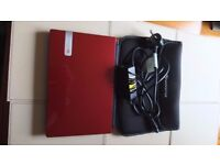 Packard Bell Dot S Netbook PC Red Edition