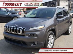 2014 Jeep Cherokee North | 4x4 | PST PAID