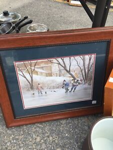 Picture frame art work