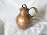 Copper Guernsey can – one 'pot' capacity - £12