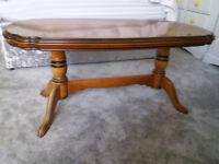 John E. Coyle Solid Cherry Wood Coffee Table