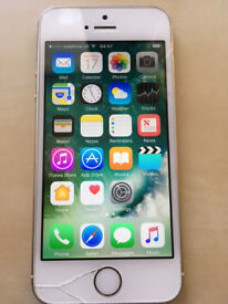 iPhone 5s Silver/Gold 16GB (unlocked)