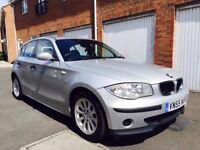 2005 55 BMW 1 Series 118d 5dr+1 Owner+FULL MOT 2.0 Turbo Diesel+nt a3 golf 320d 120 a4 3 1.9 tdi 1.8
