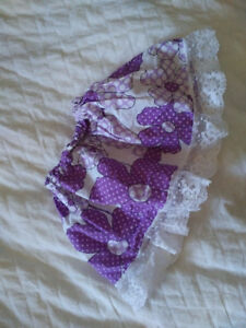 flower and lace skirt for American girl dolls