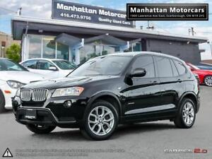 2013 BMW X3 28i X-DRIVE |PANORAMIC|BLUETOOTH|NO ACCIDENT|LOADED