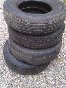 summer tires P225/75R15