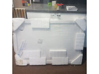 1200 x 800 cast low profile shower tray as new in packaging