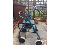 Mobility Aid 4 Wheeled Rollator