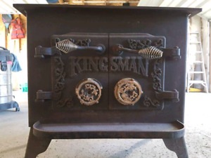 Certified Kingsman woodstove
