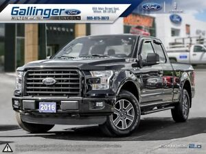 2016 Ford F-150 XLT w/SPORT PKG AND 2.7L ECOBOOST ENGINE