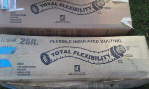 "Flexible Insulated Ducting 4"" and 6'"