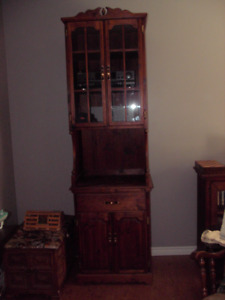 Stereo cabinet .Hand made .7ft tall