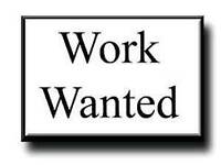 Evening/night work wanted Anything considered !!