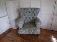 Large Winged Chair
