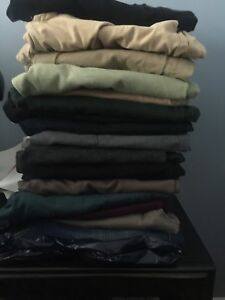 17 Pairs of Size 12  female pants/jeans for $35!!!