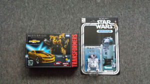 Rc tires/ masterpiece bumblebee / star wars  40thanniversary