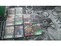 1 wii games other kixed pc games and 1 pc usb snes controller