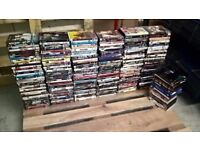 Large Joblot Bundle Of Over 250+ DVDs. Mixed Genre All In GWO
