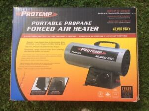 Forced Air Heater, Portable Propane