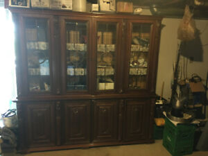 WALL UNIT SOLID CHERRY