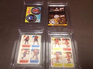 Cartes hockey alimentaires Canadiens Lafleur Lemieux