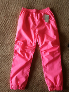 Girls lined splash pants size 5