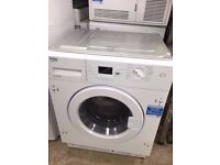 Graded BEKO WI1573 Integrated Washing Machine 7KG ENFIELD