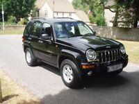 Jeep Cherokee 3.7 V6 Limited LPG Auto 4x4 5dr High Spec