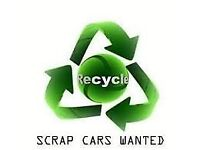 WE BUY ALL SCRAP CARS VANS AND JEEPS