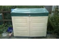 Plastic shed outdoor storage