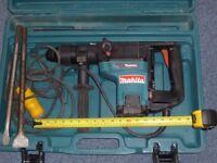 Demolition drill / Makita HR4000C Rotary hammer