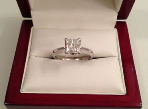 SAVE $6,300 1.00ct, I1, G, 18k WG Brand New Condition!!