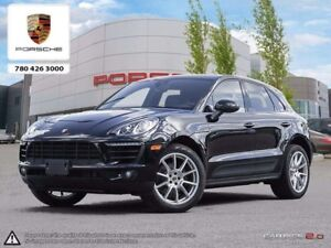2017 Porsche MACAN Certified Pre-owned | Premium PKG | 18-way Ad
