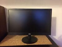 "Brand New AOC e2070Swn 19.5"" LED Monitor"