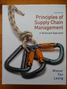 TEXTBOOK - Principles of Supply Chain Management - $65