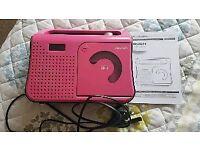 Girls Bush Boombox CD player
